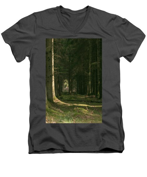 Through Men's V-Neck T-Shirt
