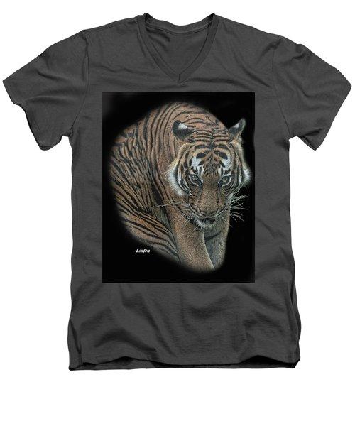 Tiger 6 Men's V-Neck T-Shirt