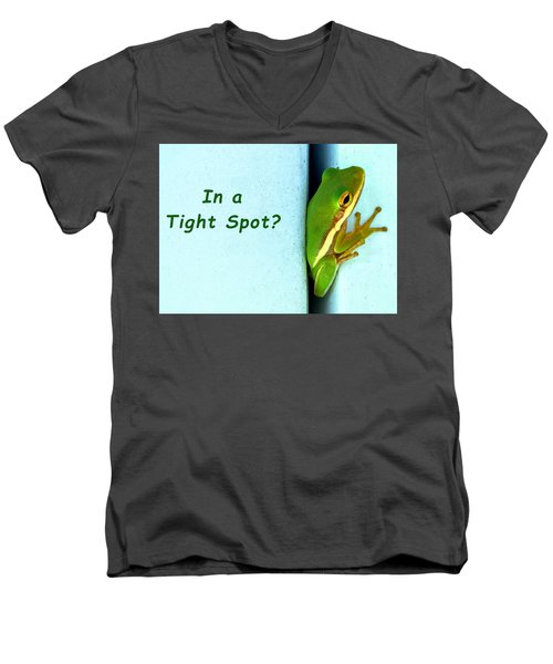 Tight Spot Men's V-Neck T-Shirt