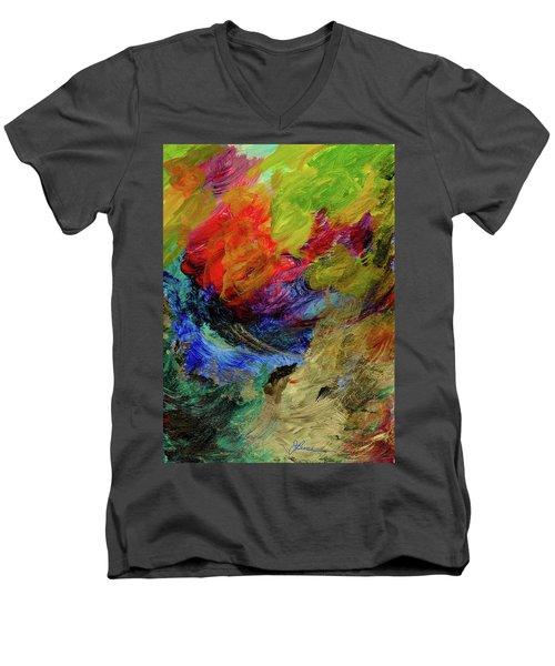 Time Changes Men's V-Neck T-Shirt