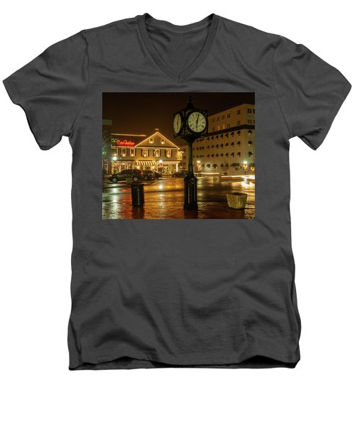 Time For Christmas Men's V-Neck T-Shirt