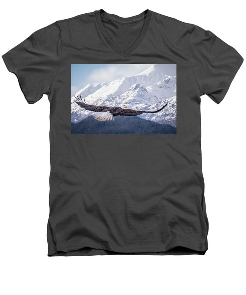 To The Hills... Men's V-Neck T-Shirt