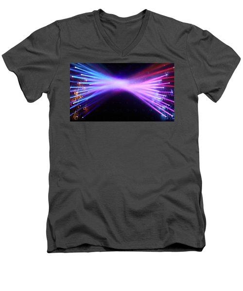 Tokyo Lights Men's V-Neck T-Shirt