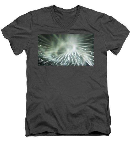 Tokyo Lights IIi Men's V-Neck T-Shirt