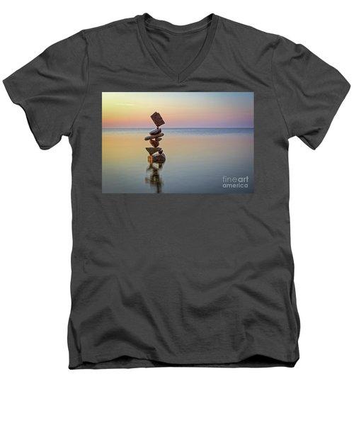 Total Zen Men's V-Neck T-Shirt