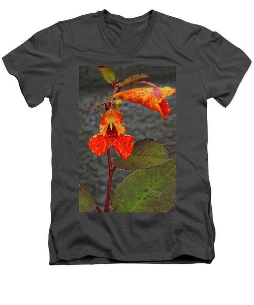 Touch Me Nots Men's V-Neck T-Shirt