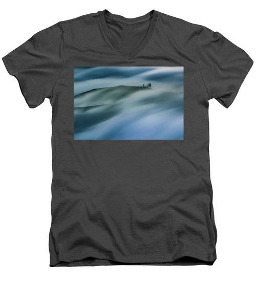 Touch Of Wind Men's V-Neck T-Shirt