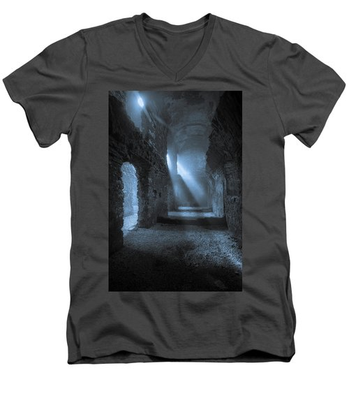 Traces Of The Past Men's V-Neck T-Shirt