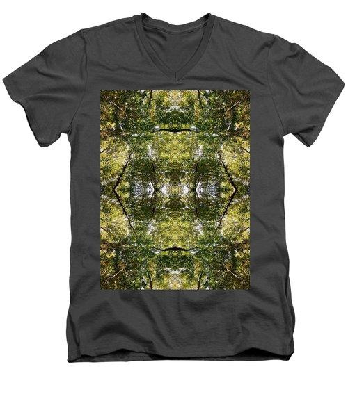 Tree No. 14 Men's V-Neck T-Shirt