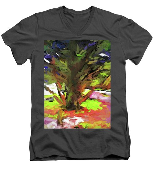 Tree With The Open Arms Men's V-Neck T-Shirt