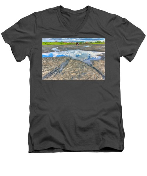 Trinidad Pitch Lake Men's V-Neck T-Shirt