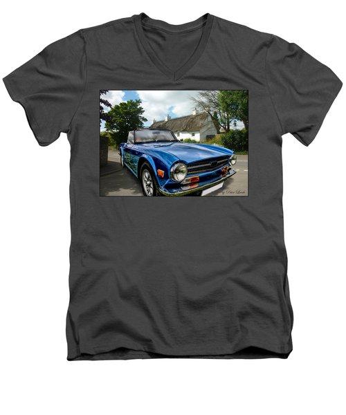 Triumph Tr6 Men's V-Neck T-Shirt