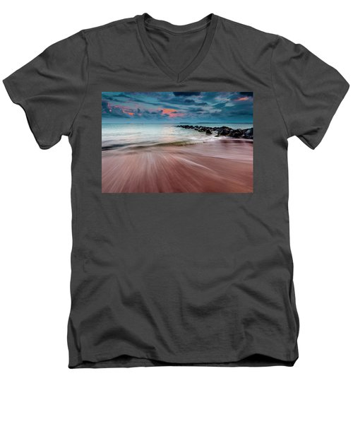 Tropic Sky Men's V-Neck T-Shirt