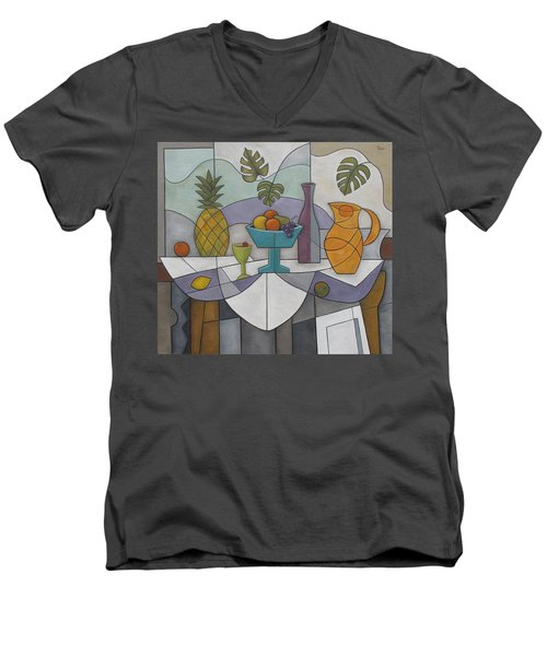 Tropical Delights Men's V-Neck T-Shirt