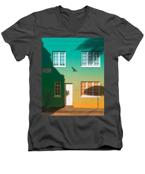 Tropical London Men's V-Neck T-Shirt