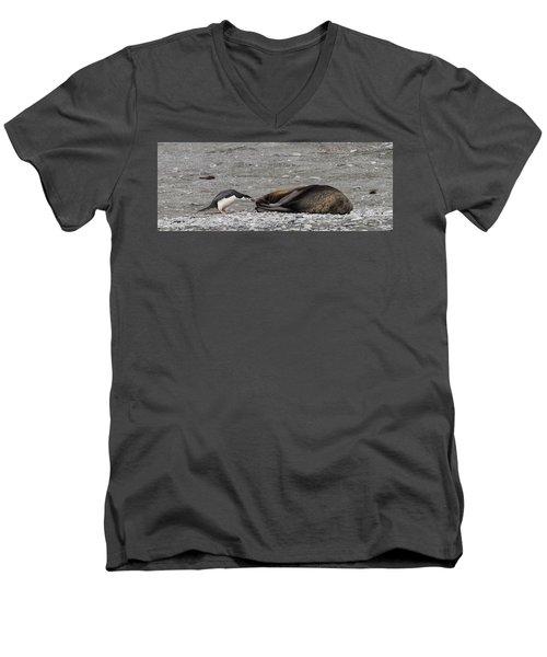 Troublemaker Men's V-Neck T-Shirt
