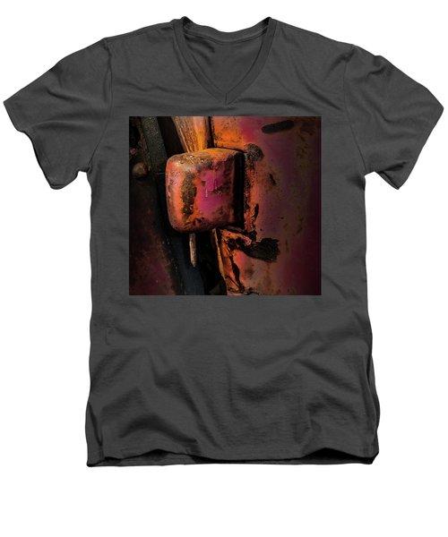 Truck Hinge With Nail Men's V-Neck T-Shirt