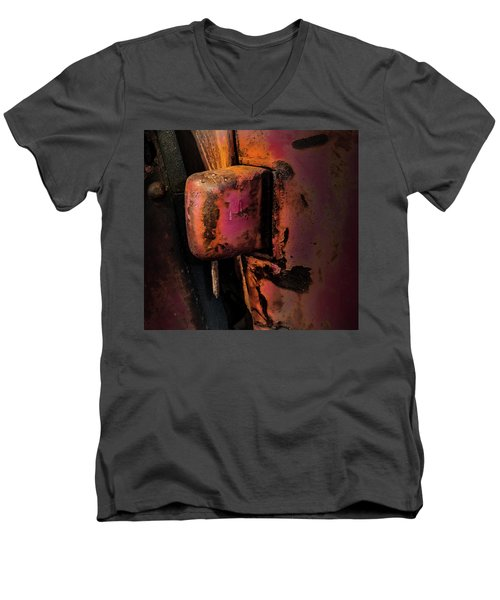 Truck Hinge With Nail Men's V-Neck T-Shirt