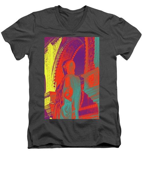 True Colors Men's V-Neck T-Shirt