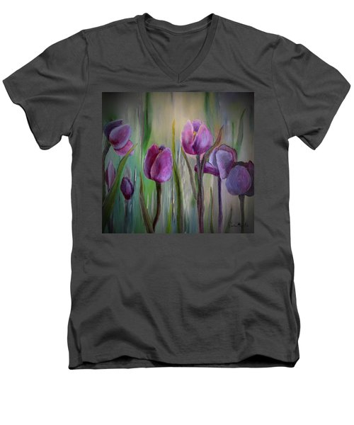 Tulip Passion Men's V-Neck T-Shirt