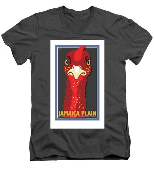 Turkey Stare Jp Men's V-Neck T-Shirt