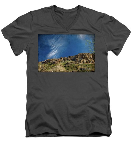Tuscon Clouds Men's V-Neck T-Shirt