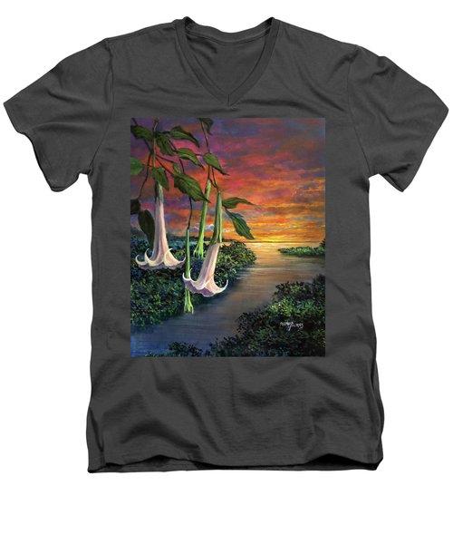 Twilight Trumpets Men's V-Neck T-Shirt