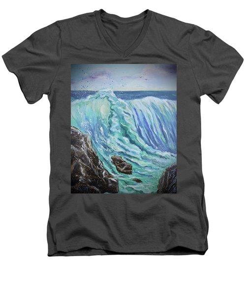 Unstoppable Force Men's V-Neck T-Shirt