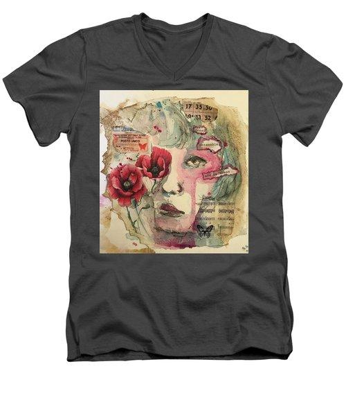 Untamable Men's V-Neck T-Shirt