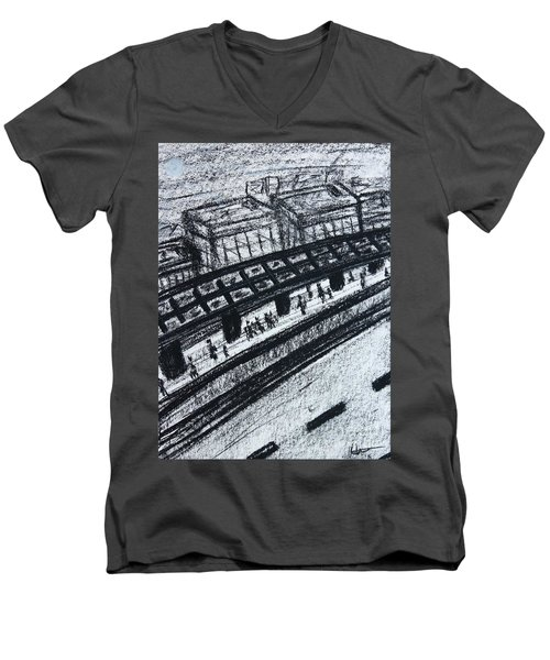 Untitled Sketch I Men's V-Neck T-Shirt