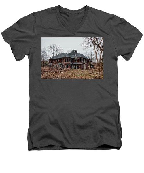 Urban Exploration Men's V-Neck T-Shirt