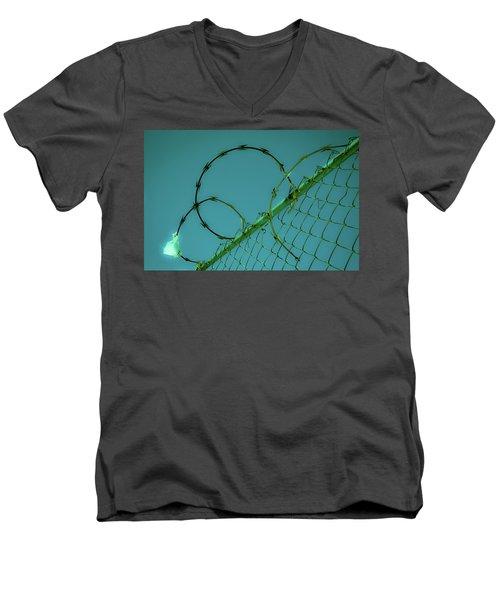 Urban Geometry Men's V-Neck T-Shirt