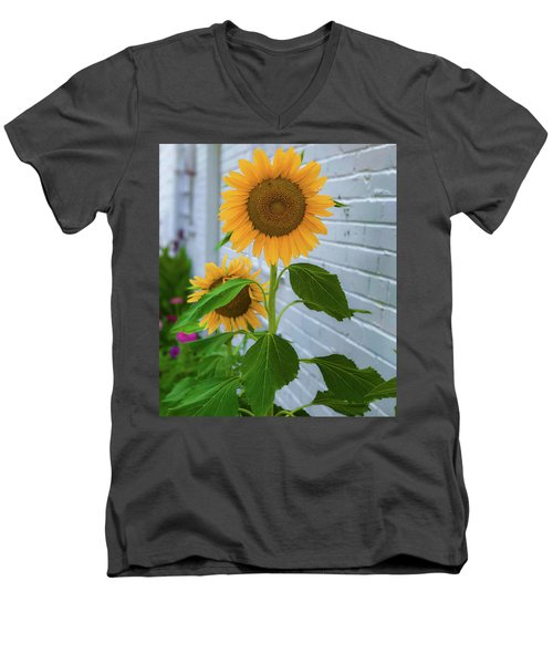 Urban Sunflower Men's V-Neck T-Shirt