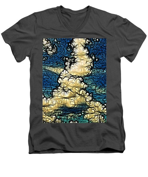 Utopia Parkway Men's V-Neck T-Shirt