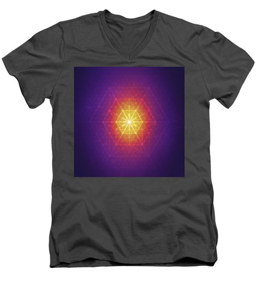 Vector Equilibrium Men's V-Neck T-Shirt