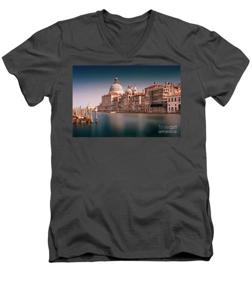 Venice Grand Canal Men's V-Neck T-Shirt