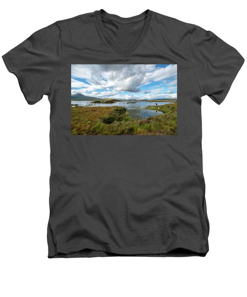 View In Glencoe, Scotland Men's V-Neck T-Shirt