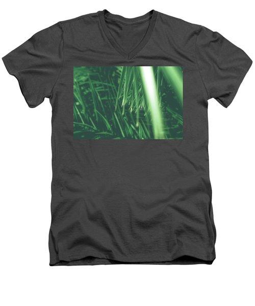Vintage Palms Iv Men's V-Neck T-Shirt
