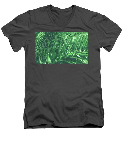 Vintage Palms V Men's V-Neck T-Shirt
