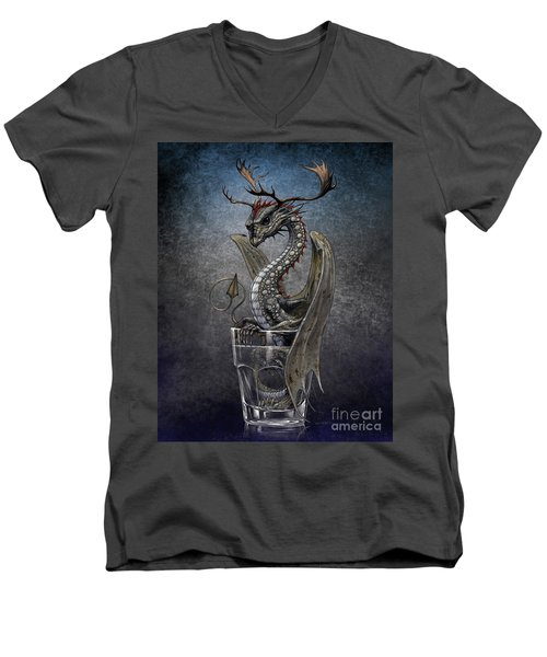 Vodka Dragon Men's V-Neck T-Shirt