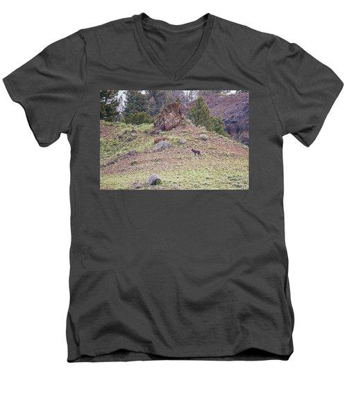 W21 Men's V-Neck T-Shirt