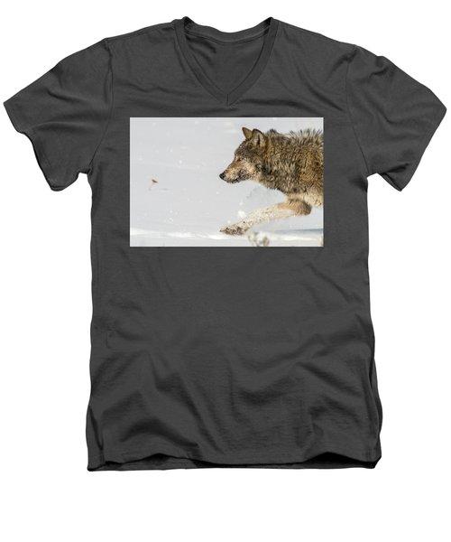 W36 Men's V-Neck T-Shirt
