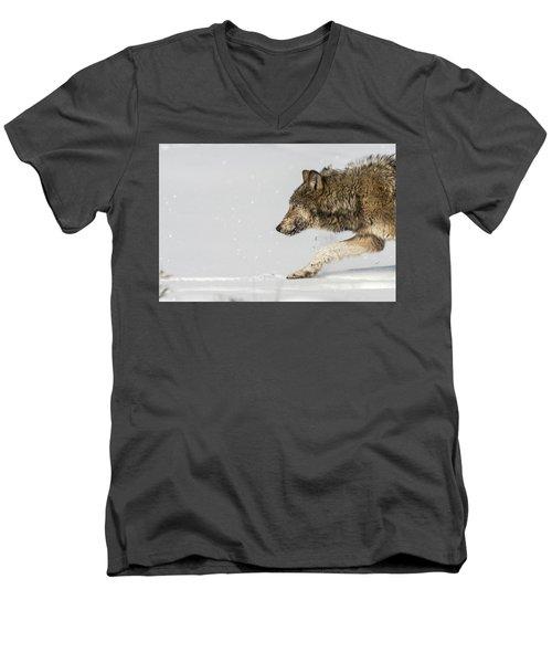 W40 Men's V-Neck T-Shirt