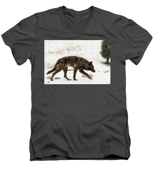 W44 Men's V-Neck T-Shirt