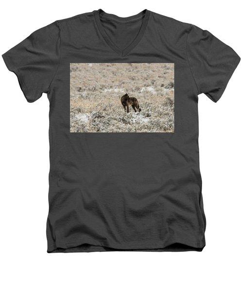 W49 Men's V-Neck T-Shirt