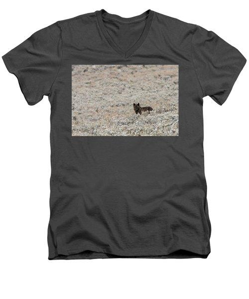 W50 Men's V-Neck T-Shirt
