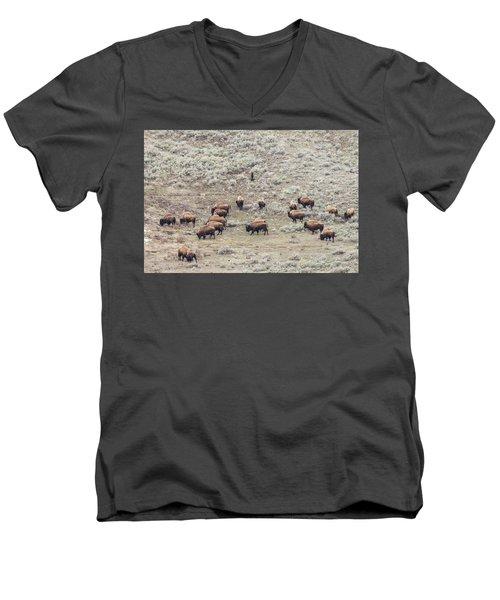 W56 Men's V-Neck T-Shirt