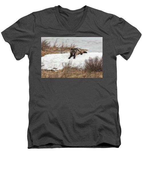 W57 Men's V-Neck T-Shirt