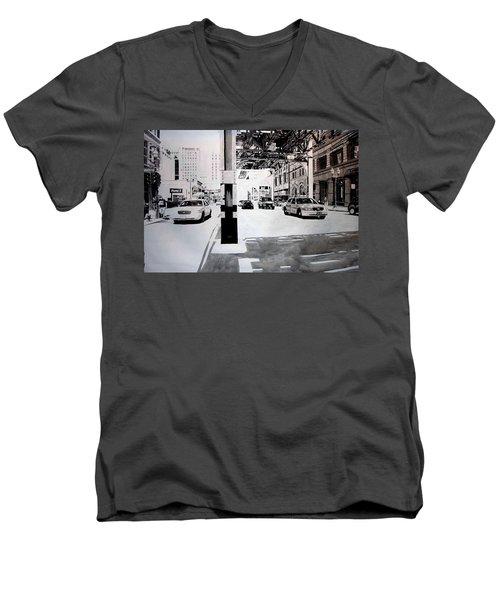 Wabash Men's V-Neck T-Shirt