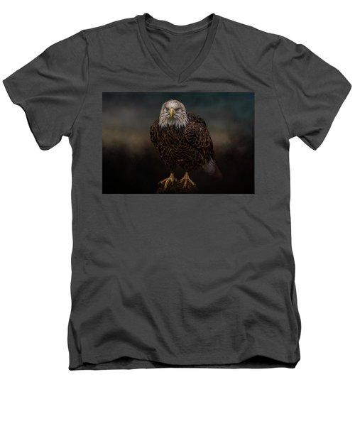 Waiting On The Storm Men's V-Neck T-Shirt